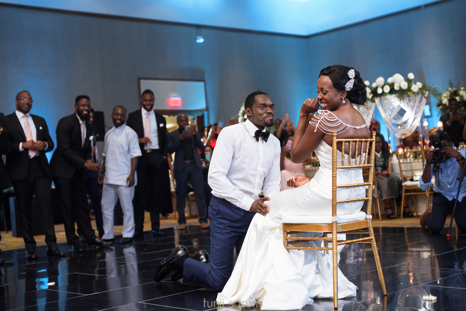 Nkiru and Gregg Wedding at Hilton BWI