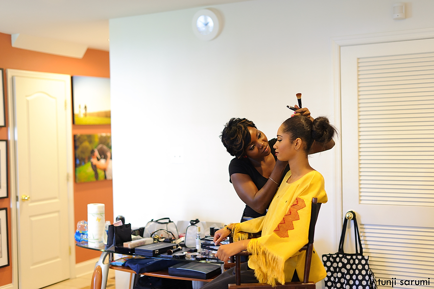 African Bride USA Mag. Shoot Behind the Scene
