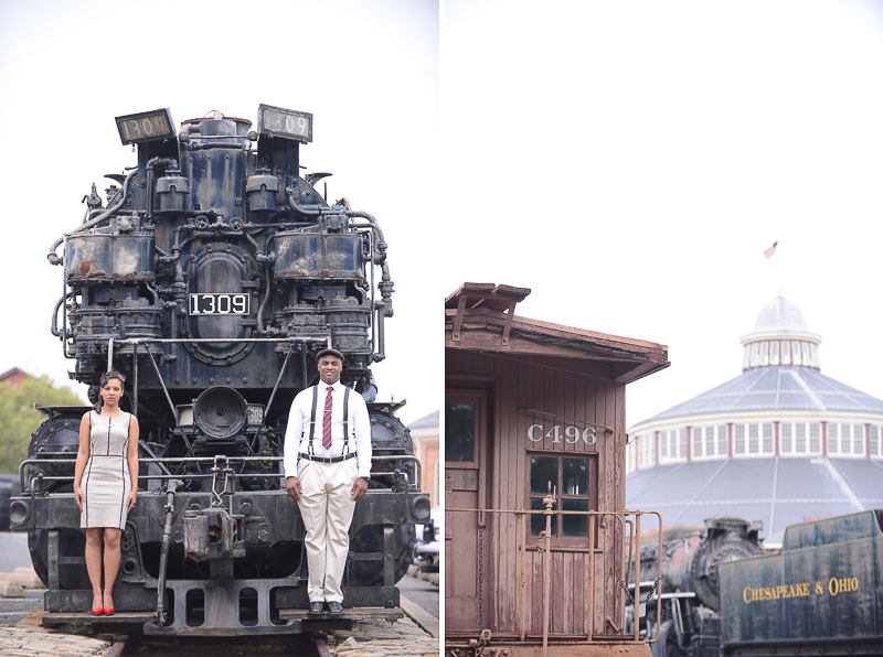 Baltimore Rail Road Museum Engagement Shoot ||  2012 tunji sarumi photographs || Couple Session  (30)
