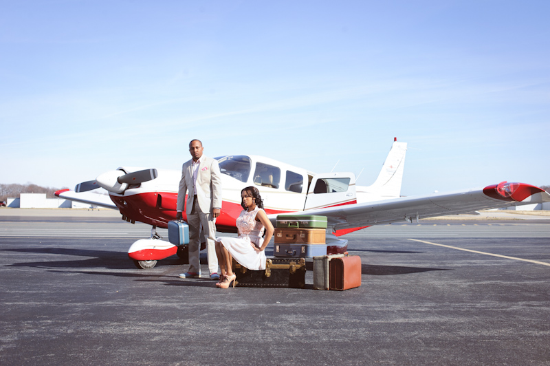airplane, engagement session, Janeen and Chris, theme width=