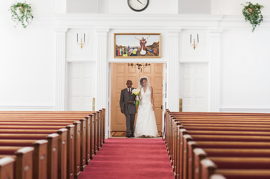 williamsburg virginia wedding | first baptist church