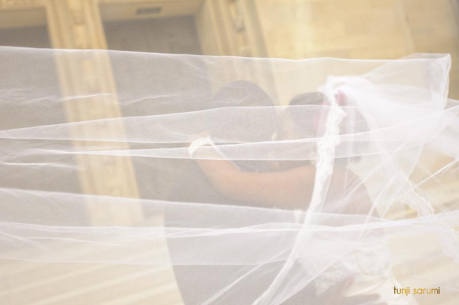 Bisi and Jimi, Couple, Nigerian Wedding, Scottish Rite Temple, Wedding Party