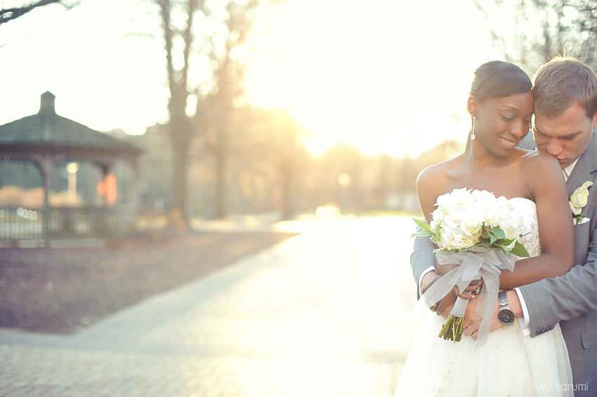 Tunji Sarumi Weddings 2010, Goucher College, Ceremony, Haebler Memorial Chapel, Towson Sheraton, Simple Wedding